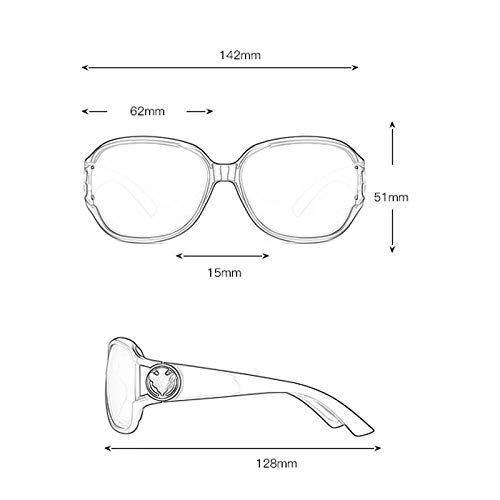 soleil lunettes de polarisée Big à personnalité Lunettes Sport D Soleil Elegant Femme Box de Nouvelles Des qBEnadwq