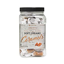 Gourmet Handcrafted Soft Creamy Caramels Bites 1.25 Pounds