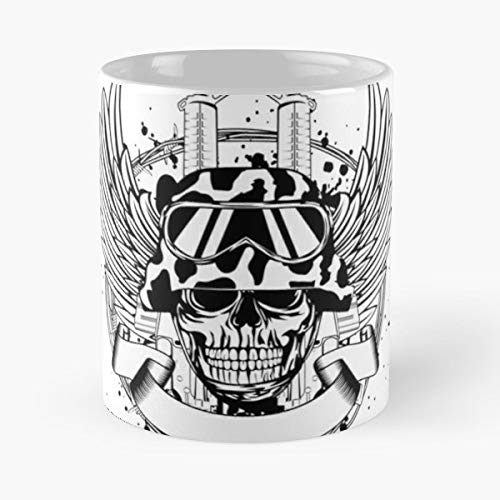 Army Automatic Barbed Wire Barbwire - Best Gift Ceramic Coffee Mugs 11 Oz