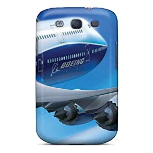 Protector Cell-phone Hard Cover For Samsung Galaxy S3 (tfJ7389iogh) Customized Beautiful Airplane Boeing Series