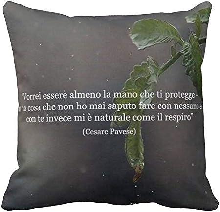 Pillow Pillow Cuscino Personalizzato Cesare Pavese Poeta Poesia