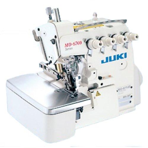 Juki MO-6743S 3Needle 6Thread Ind Hybrid Serger, 3.2-4.8mm Overlock Safety Stitch Machine MO6743 7mmFootLift .8-4mmSL PowerStand 7000RPM AutoOil (Serger Safety Machine Stitch)