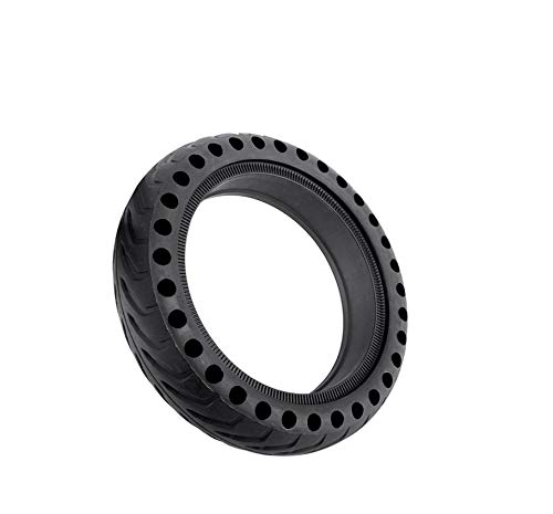 Electric Scooter Skateboard Wheel Tire Tyre Solid Hole Tires Shock Absorber Non-Pneumatic Tyre Damping Rubber for Xiaomi Mijia M365 (1 Piece) (Mgp V2)