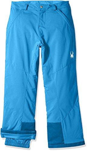 Spyder Girl's Vixen Ski Pant, French Blue, Size 12 (Spyder Snow Pants)