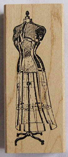 Nature's Blessings Fine Art Stamps, Dress Form by Nature's Blessings