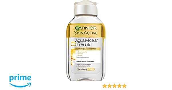 Garnier Skin Active Agua Micelar en Aceite - 100 ml: Amazon.es: Amazon Pantry