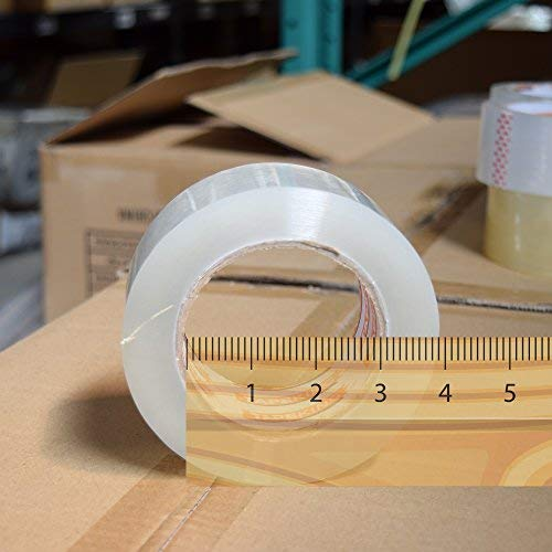 Tape King Clear Packing Tape - XL 110 Yards per Roll (36 Rolls) - 1.88 inch Wide Stronger & Thicker 2.7mil, Heavy Duty Adhesive Industrial Depot Tape for Moving Packaging Shipping and Commercial by Tape King (Image #2)