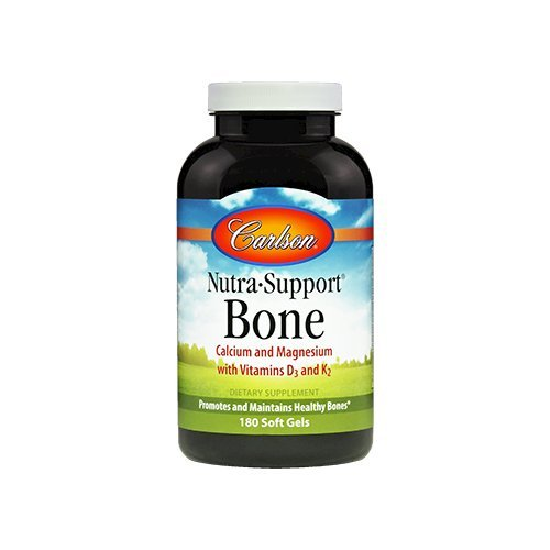 Carlson Nutra Support Bone - Calcium Magnesium with Vitamins D3 and ()