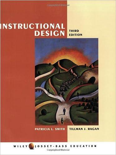 Instructional Design: Patricia L. Smith, Tillman J. Ragan: 9780471393535:  Amazon.com: Books