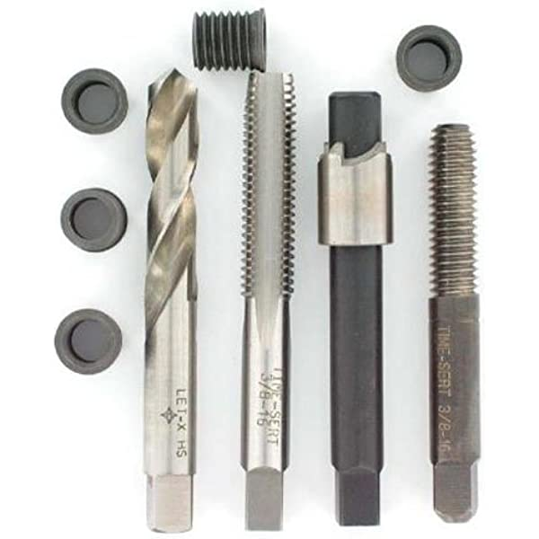 TIME-SERT Inch Stainless Steel Insert 3//8-16 X .520 Part # 03812