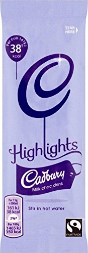 Cadbury Highlights Milk Chocolate Fairtrade (11g) - Pack of 2