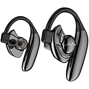 AMINY Wireless Earbuds with Powerful Battery 4.2 bluetooth headphones Earphone Stereo Music Headsets Sweatproof True Wireless Headphones Handsfree With Microphone For Huawei Iphone Samsung Xiaomi HTC