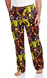 Mad Engine Men's Marvel Comics Avengers Favorites Warm Lounge Pants (X-Large)