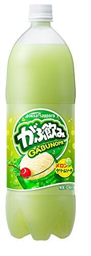 1.5LX8 this Pokka Sapporo guzzling melon cream soda by Gulp