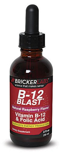 Bricker Labs Blast B12 Vitamin B12 and Folic Acid -- 2 fl oz - 3PC by Brickerlab