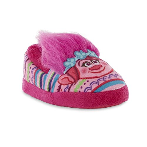 Dreamworks Trolls Poppy Girls Pink Slipper 5/6