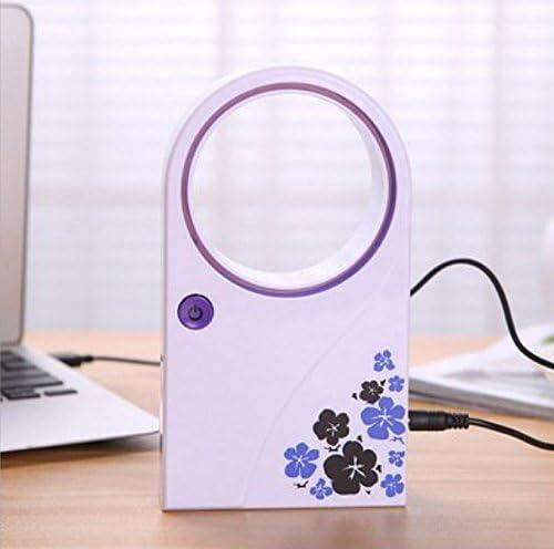 Omeny Creative Mini ventilador sin cuchilla portátil sin hoja de ...
