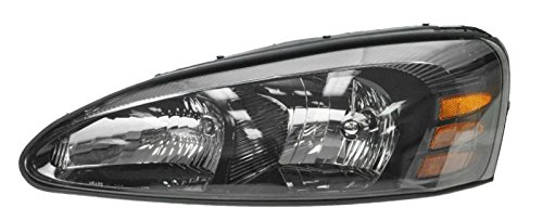 Headlight Headlamp Driver Side Left LH for 04-08 Pontiac Grand (Grand Am Headlight Lh Driver)
