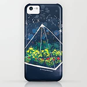 Society6 - The Greenhouse At Night iPhone & iPod Case by Jo Cheung Illustration