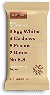 product image for Rxbar, Pecan Protein Bars, 1.83 Ounce, 12 Count