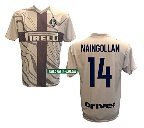 Inter Maglia Third Home Replica Ufficiale NAINGGOLAN 14 18/19 Adulto Bambino