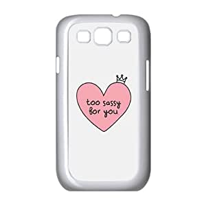 GTROCG Son Of A Nut Cracker Too Sassy For You Awesome No. 1 Dad Phone Case For Samsung Galaxy S3 I9300 [Pattern-5]
