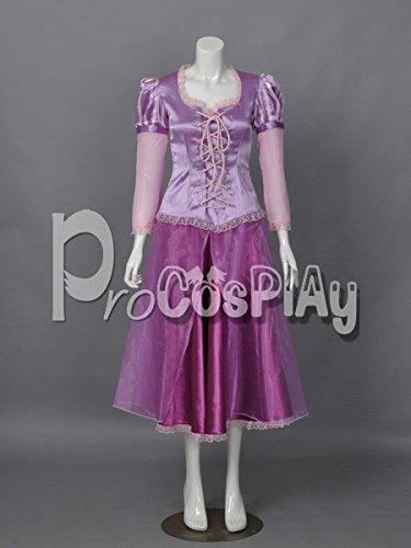 (Procosplay)Tangled Princess Rapunzel Cosplay Costume mp001593