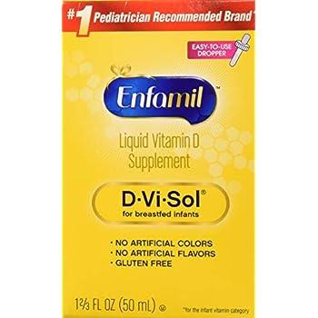 Amazon Com Enfamil D Vi Sol Vitamin D Supplement Drops