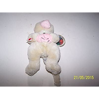 Coca-Cola Bean Bag Plush Key Key the Snow Monkey representing (Japan): Toys & Games