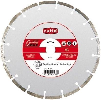 Ratio 1392A230 Disco Segmentado Granito Q-Max 230Mm Ratio