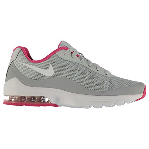 NIKE Air Max invigor Formation Chaussures pour Femme Gris/Blanc/Rose Gym formateurs Sneakers