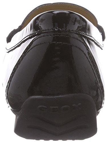Geox D Grin B, Women's Mocassins Black (C9999black)