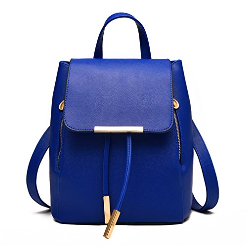 Deep High Fashion Women Bag Quality Shoulder Schoolbag Blue Pahajim Girls 8FqP6