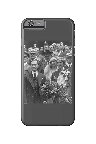 Amelia Earhart with Mayor Walker NYC Photo (iPhone 6 Plus Cell Phone Case, Slim Barely There)