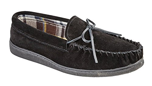 SABLE 11 Noir 12 9 MARINE MARRON NOUVEAU 7 REAL SLIPPERS 10 6 GENTS OU SAND MOCCASIN UK TAILLE MENS SABLE 8 wFBAq0