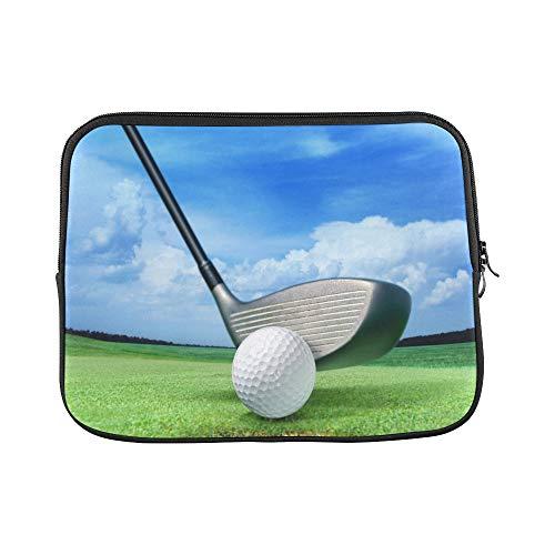- Design Custom Golf Ball On Lip Near Bunker Lovely Beautiful GOL Sleeve Soft Laptop Case Bag Pouch Skin for MacBook Air 11