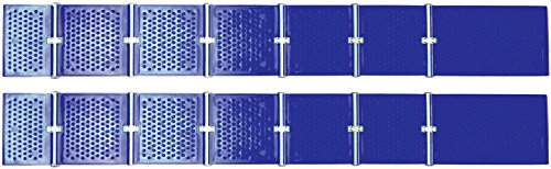 Reusable Revolution Tire Traction Mats & Chock - Emergency Traction Pad (Blue)