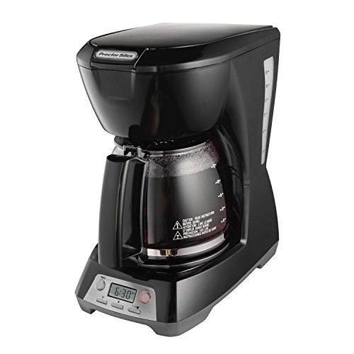 Proctor-Silex 12 Cup Programmable Coffeemaker, Black