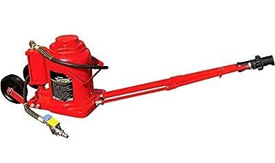 50 Ton Air/Hydraulic Bottle Jack Super Duty Auto Truck RV Repair Lift w/Handle