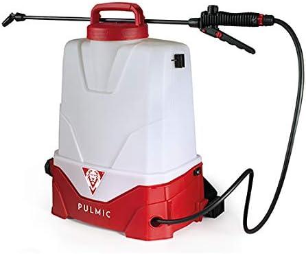 Pulmic Pulverizador Eléctrico Pegasus 15, Rojo y Blanco