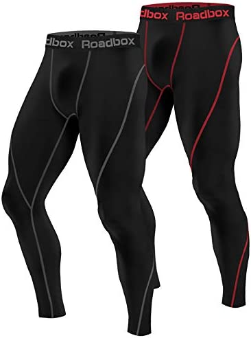 Roadbox Compression Workout Leggings Baselayer product image