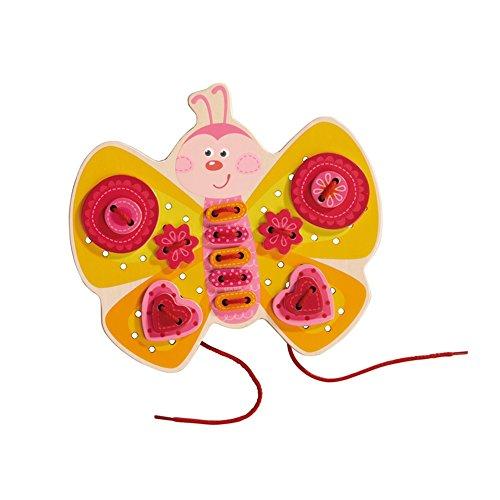 HABA - Jeu de Laçage Papillon, 301124