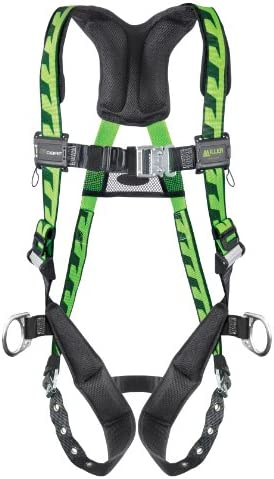Miller Titan by Honeywell AC-TB2/3XLGN AirCore Full Body Harness, 2X-Large/3X-Large, Green by Honeywell