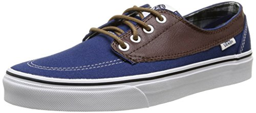 Soil Potting Estate Bleu Adulte Mixte Baskets Vans Basses Plaid Leather Brigata Blue qx8Pnvf