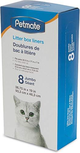 Petmate Litter Pan Liners Jumbo 96 ct (12x8ct) (Liner Petmate)