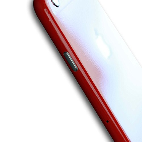 AppSkins Folien-Set iPhone 6s PLUS Full Cover - Brilliant Gloss Red