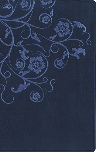 NIV, Flora and Fauna Collection Bible, Imitation Leather, Blue