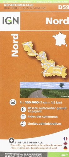 Nord: IGN721259 (Departement Maps)
