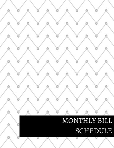 Monthly Bill Schedule ebook