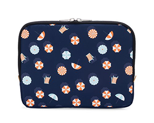 Yumbox Poche - Insulated Sleeve Lunch Box (Parasol print); slim and compact, perfect for office and school lunches, to be carried inside a bag or backpack